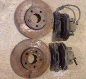 Тормозные диски и суппорта Ford Focus 3 передние