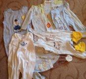 Одежда для мальчика  от 0 до 6 мес