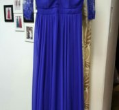 Вечернее платье 46 с рукавом