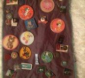Раритетная коллекция значков советской эпохи