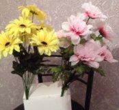 Букеты искусственные !Цветы!