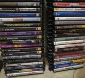 DVD диски со стойками