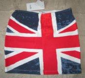 Новая юбка. Британский флаг