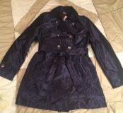 Новый с биркой утепленный плащ-пальто