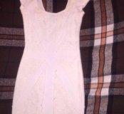 Платье Bershka (S) под флаг Великобритании