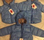 Стильные курточки на рост 80-130 см