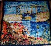 Шелковый платок с картиной Ван Гога