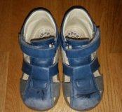 Кожаные сандалии для мальчика