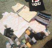 Вещи и белье на рост 104-110