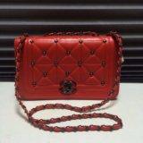 Эффектная женская сумочка из красной кожи🔥