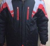 Куртка муж теплая р.48-50