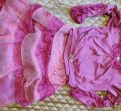 Праздничный костюм тройка для девочки 9-11 лет