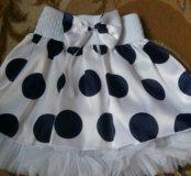 Новая юбка на девочку