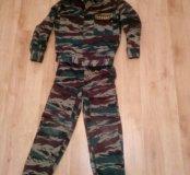 Военный детский костюм спецназ(прокат)