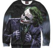 Свитшот Джокер Бэтмен Тёмный рыцарь DC