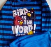 Пижама для мальчика птички новая