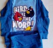 Пижама для мальчика Angry Birds новая