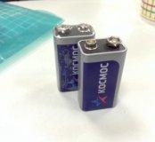 2 новые батарейки