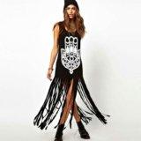 Молодежное черное платье