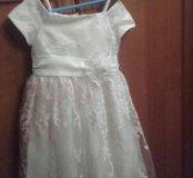 Платье на девочку 3 года