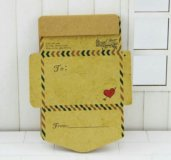 Бумажные мини-конверты