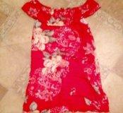 Новое платье с открытыми плечами 🍒