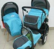 Детская коляска Slaro Indigo 3в1