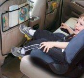 Защита автосидения с органайзером
