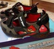 Новые сандали angry birds