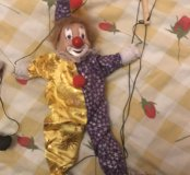 Клоун игрушка