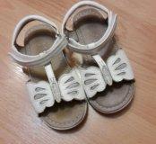 Б/у сандалии 24 размер