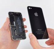 Крышка задняя на айфон 4s