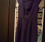 Черное платье 44 р.