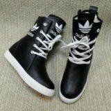 Высокие зимние кеды, ботинки, новые