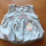 Платьице для новорожденной девочки