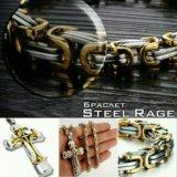 Подарочный набор St. RAGE из ювелирной стали