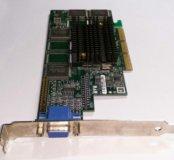 Видеокарта AGP G4+MILN_16_IB2 рабочая