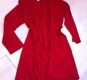 Новый красный халат 48-50р