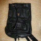 Рюкзак из плотной мягкой кожи