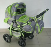 Детская коляска-трансформер Adamex Galaxy Drifting
