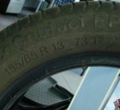 2 покрышки Continental, 155/65 R13