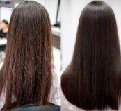 Полировка волос))