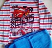 Пижама для мальчика Тачки новая