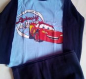 Пижама для мальчика Маквин новая