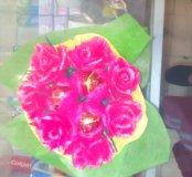 Цветы с канфетами