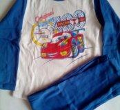 Пижама для мальчиков Тачки новая