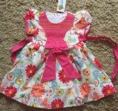 Новое платье на р.98/104