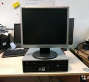 HP Системный блок с 17 дюймовым монитором
