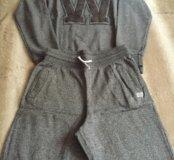 Костюм шорты+ толстовка, H&M,12-14 лет