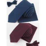 Подарок мужчине галстук, бабочка, платок